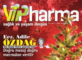 Vipharma Dergisi Kasım – Aralık 2017 Sayısı Çıktı