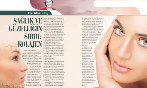 Sağlık ve Güzelliğin Sırrı: Kolajen | Ecz. Adile Özdağ